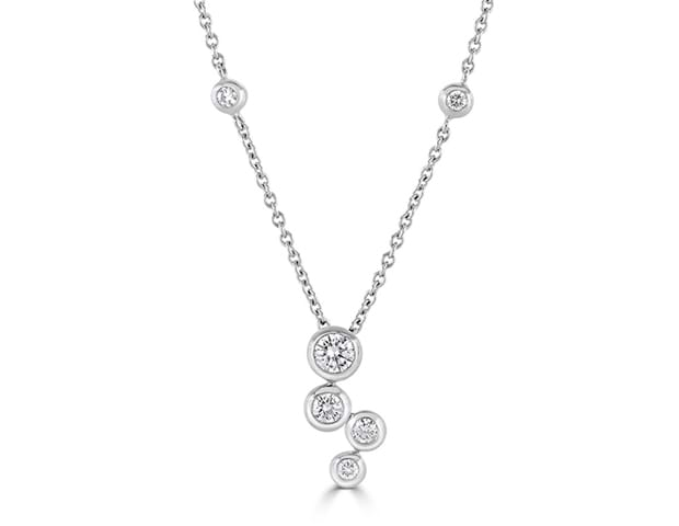 Diamond Bubble Pendant