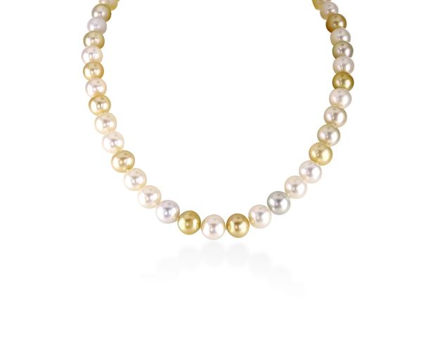 A South Sea Pearl Necklet