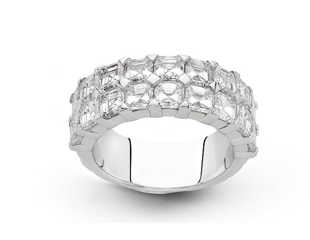 Diamond Eternity Ring - Hulchi Belluni
